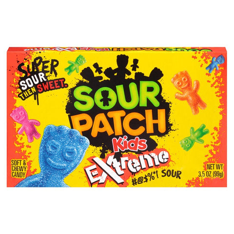 Sour Patch Kids Extreme Theatre Box 99g - Mr Bundle