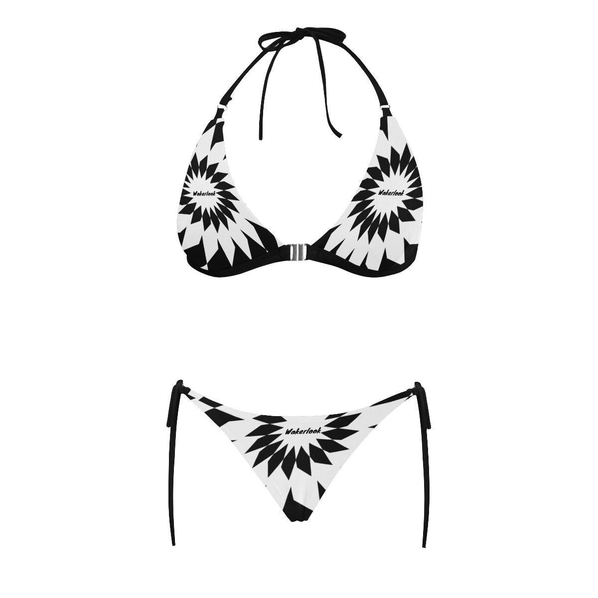 Sexy Wakerlook Halter Bikini Swimsuit