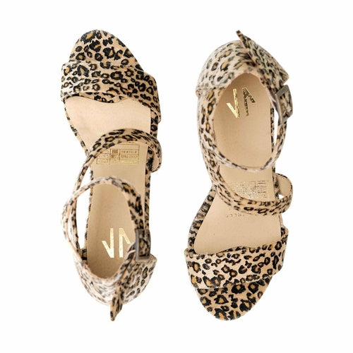 Espadrille Cheetah Wedges