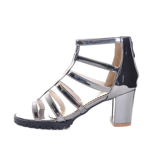 Glam Women's High Heels Casual Sandals