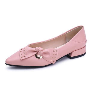 Patent Leather Flat Oxfords Shoes
