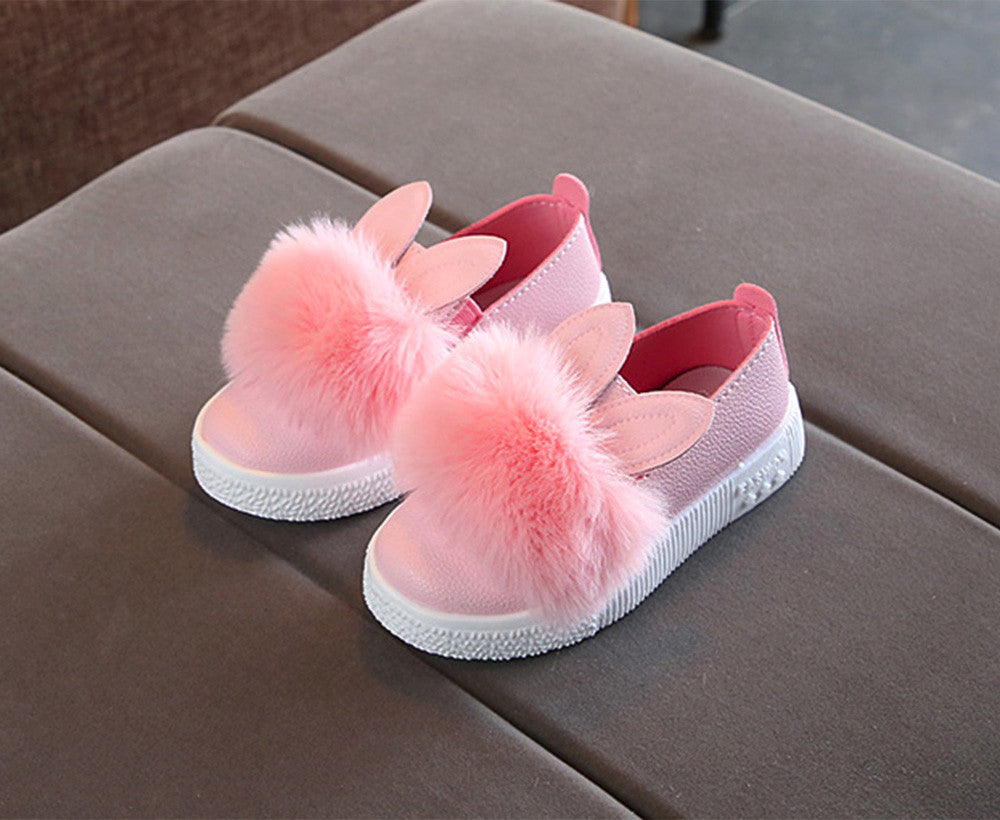 Toddler Girls Bunny Sneakers