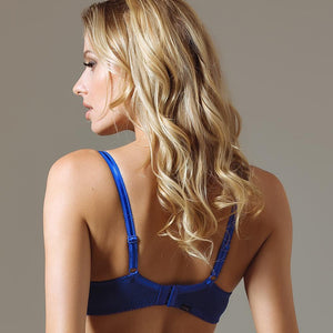 Semi Sheer Lace Demi Cup Bra