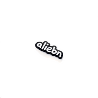 """aliebn"" enamel pin"