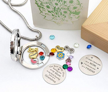 Changeable locket necklace