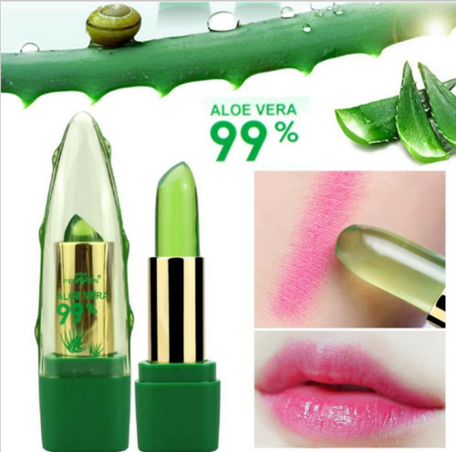 Natural Aloe Vera color changing lipstick