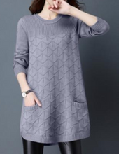 Flaring pullover with a pocket- 3 colors