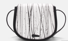 Black n white stained bags- 2 styles