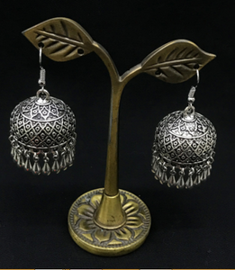 The Indian jhumkas