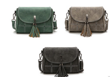 Tasseled Bags- 3 earthy shades