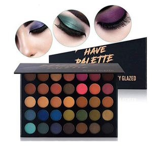 35 waterproof eye shadow set