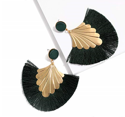 Oval Cleopatra earrings