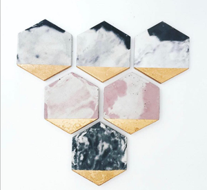 Hexagon Coasters