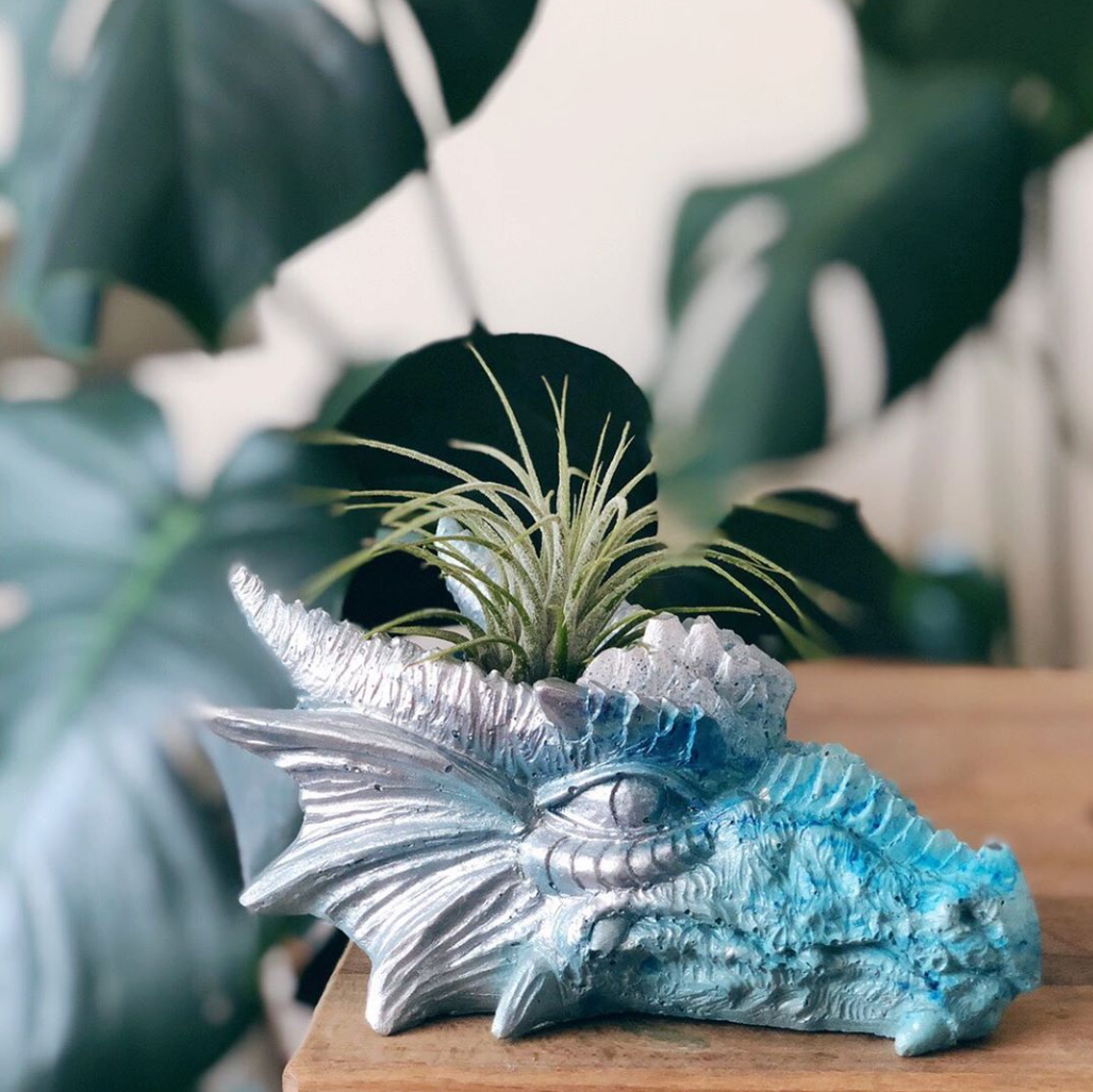 Dragon Head Planter