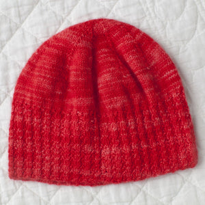 Wren's Twisted Rib Hat #136