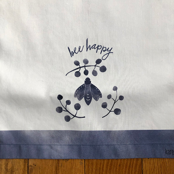 Tea Towel - Bee Happy