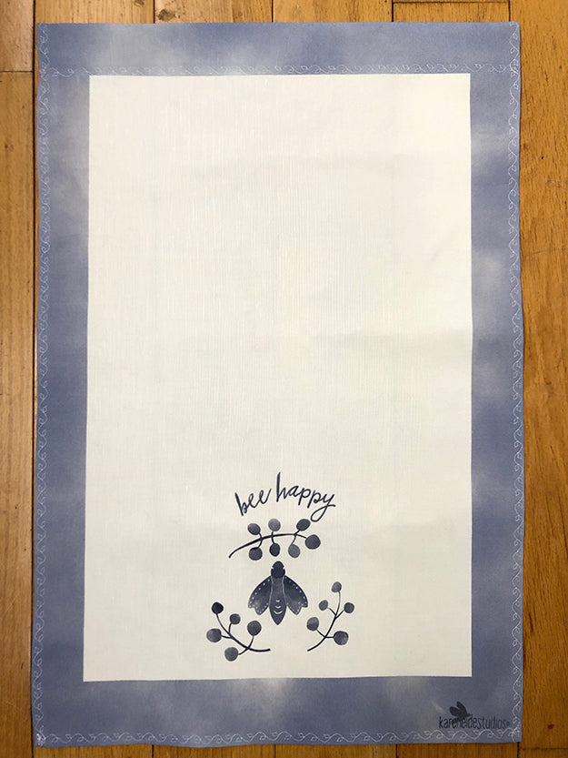 Tea Towels- Bee Happy