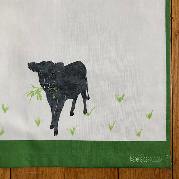 Tea Towel - Cow