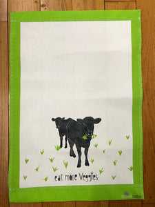 Tea Towels - Eat More Vegggies