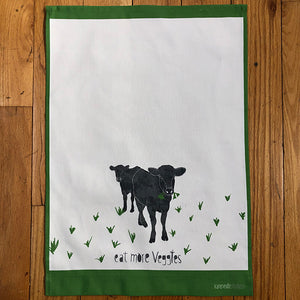 Tea Towel - Eat More Veggies