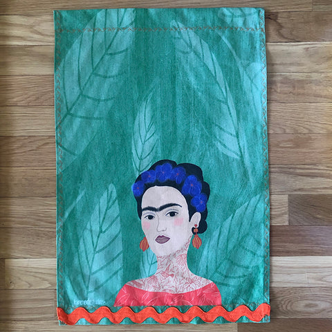 Tea Towel - 50/50 Cotton/Linen: Frida