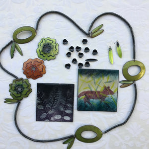 Enameling Lab Workshop ~ Explore Color and Light! July 21st