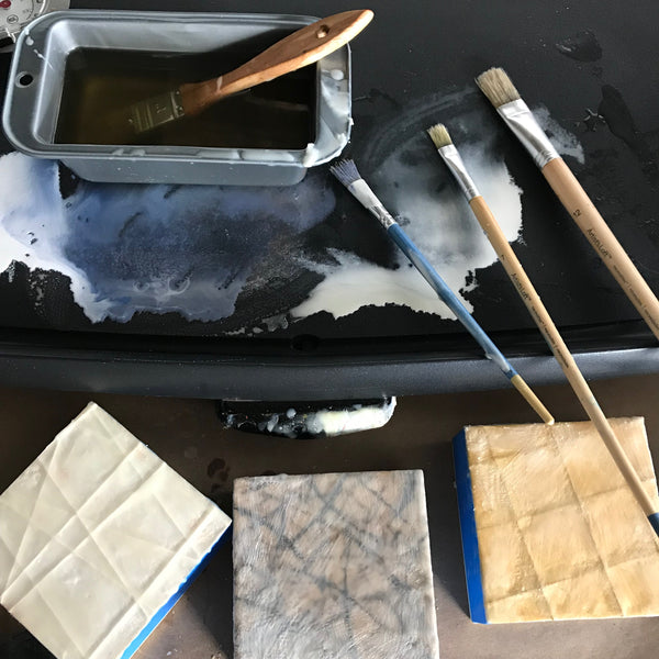 Workshop: ENCAUSTIC + MIXED MEDIA LAB | April 6th, 2019