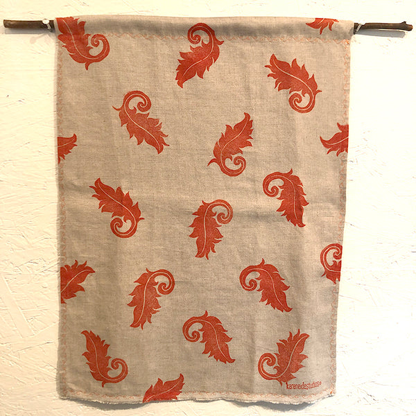 Tea Towel - Linen: Fourish