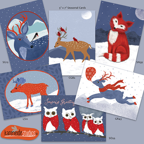 Wholesale Seasonal Cards