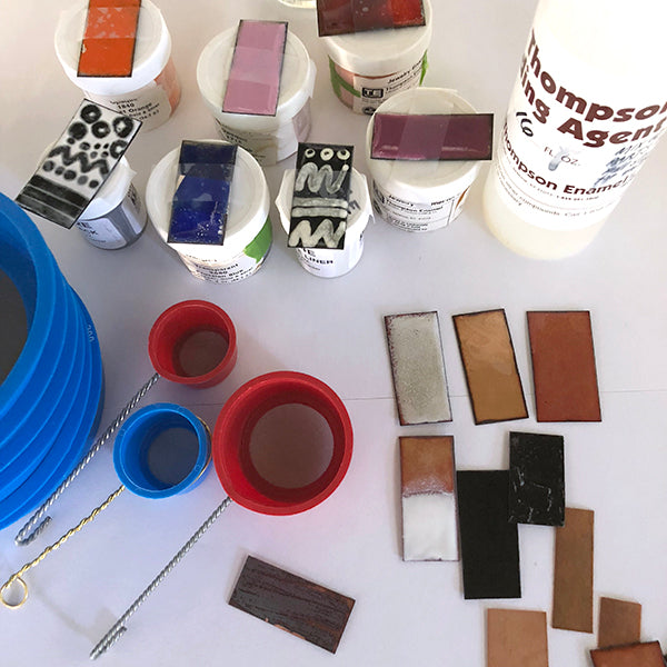 Enameling Lab Workshop ~ Explore Color and Light! March 24, 2018 | 10-4pm