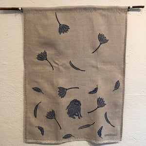Tea Towel - Linen: Rabbit