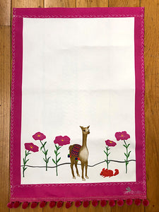Tea Towel - Luna the Llama
