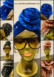 On The Go Velvet Bejeweled Headwraps