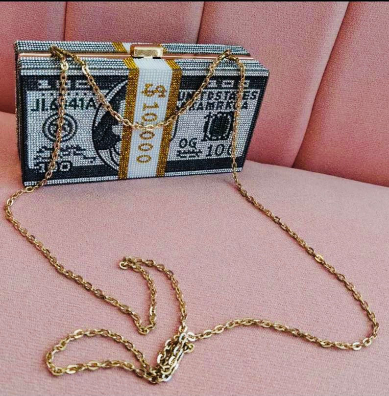 $10,000 💵Money Clutch