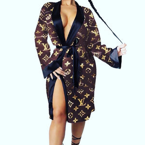 Satiny Robe