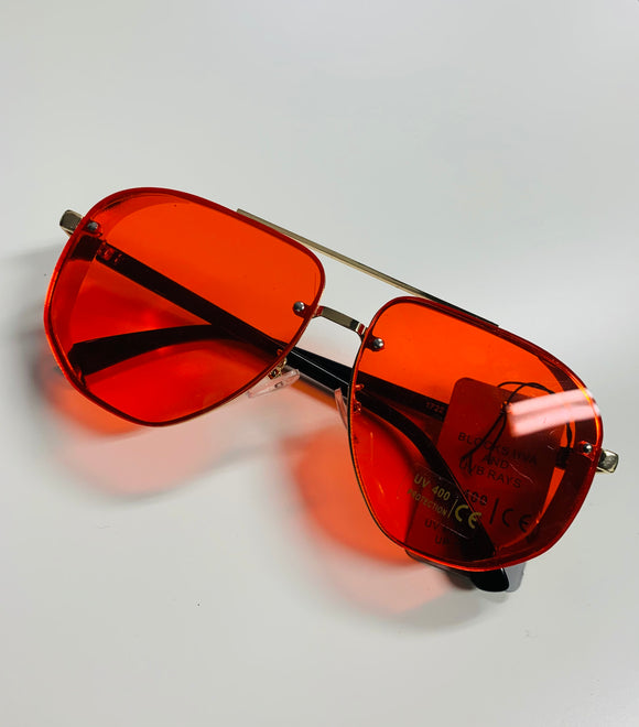 Red Glam Sunglasses