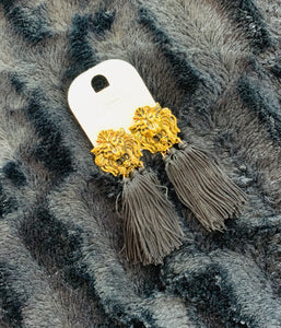 Lionness Tassle Earrings