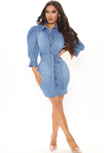 Diva Denim Dress