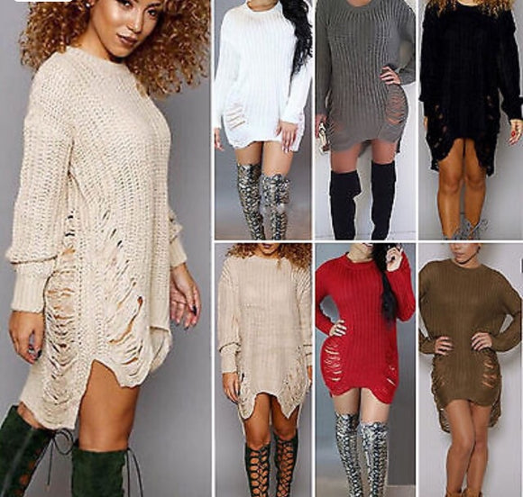 Victasia Sweater Dress