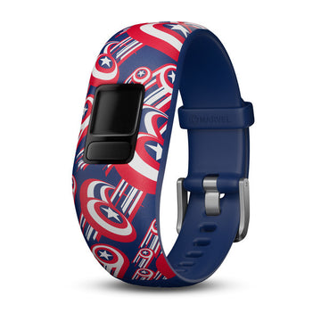 Garmin Captain America Band - 010-12666-12