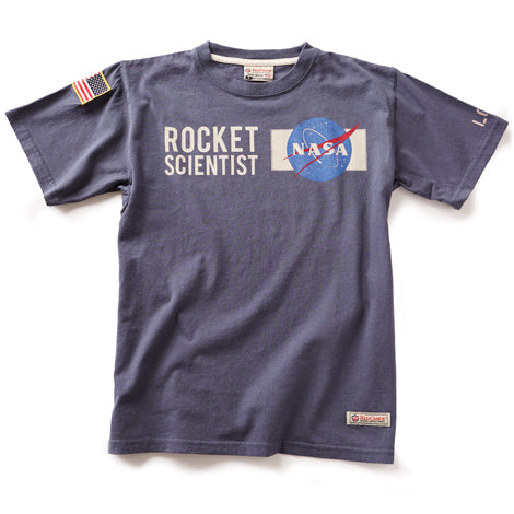 The NASA Rocket Scientist T-Shirt-Red Canoe-Downunder Pilot Shop