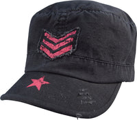 Rothco Women's Vintage Stripes & Stars Adjustable Fatigues Cap-Rothco-Downunder Pilot Shop
