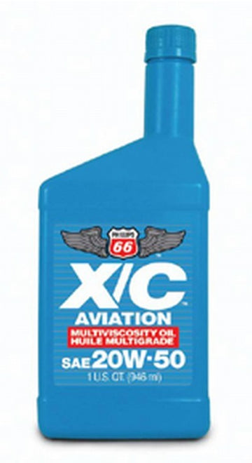 Phillips 66 20W50XC Aviation Multiviscosity Oil