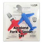 Aeroplane Fork and Spoon Set-Luso Aviation-Downunder Pilot Shop