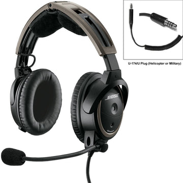 Bose A20 Headset - Helicopter + FREE SoundSport Headphones