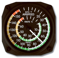 Trintec Airspeed Indicator Thermometer-Trintec-Downunder Pilot Shop