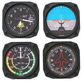 Trintec Coasters Flight Instrument Set