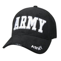 Rothco Deluxe Low Profile Cap Black - Army