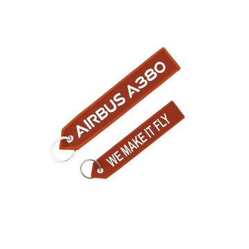 Airbus A380 Remove Before Flight Keyring