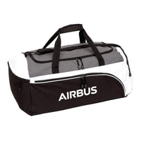 Airbus Black and Grey Sports Bag-Airbus-Downunder Pilot Shop